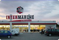 The intermarche in magalas closest big grocery store for Closest fishing store