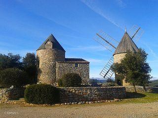 Faugeres windmills