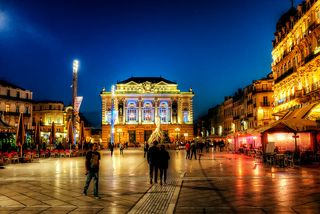 Place de la comedie flickr