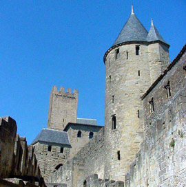 Castle at Carcassone