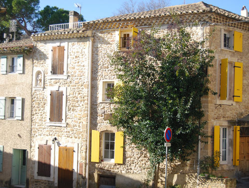 Classic village in southern France